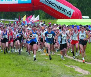 марафонский бег - наиболее грандиозный вид бега, требующий выносливости