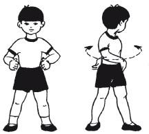 повороты туловища входят в комплекс упражнений зарядки