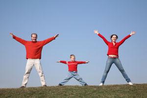 для укрепления здоровья школьников подавайте им хороший пример