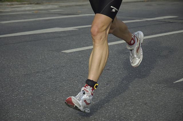 правильный бег в кроссовках
