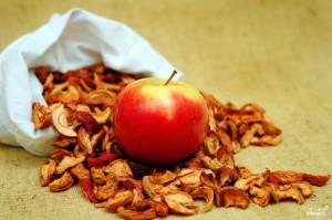 сушеные яблоки и их польза