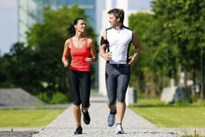 физическая активность - бег и ходьба