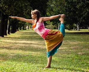 физическая активность - йога