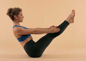что может предложить йога для похудения живота - навасана
