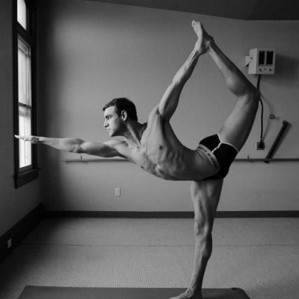 современная западная йога - натараджасана