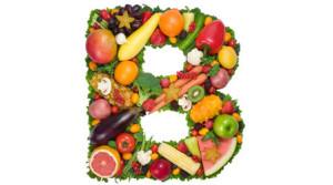 фрукты и ягоды в форме буквы Б