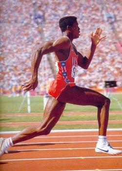 спортсмен Карл Льюис лучше всего чувствовал себя, когда стал вегетарианцем