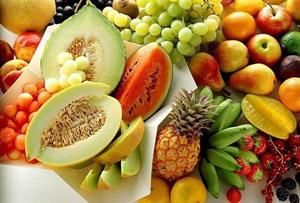 фрукты - естественный источник плодового сахара