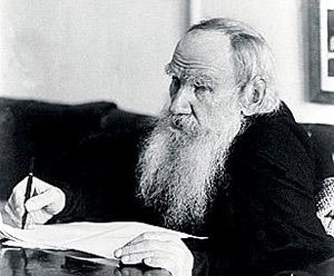 Лев Толстой старался быть вегетарианцем