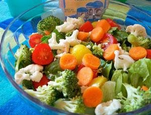 для хорошего иммунитета питание должно включать овощи