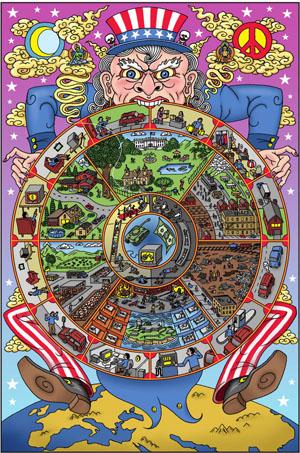начать медитацию следует с осознания того факта, что все мы пребываем в колесе бесконечных стимуляций - сансаре