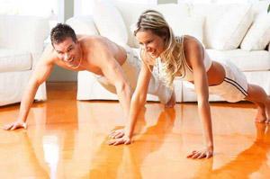 введение отжиманий в комплекс упражнений эффективно для похудения